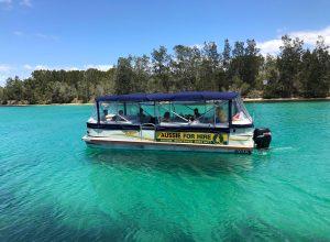 Aussie Boatshed - BBQ Boat