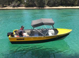 Aussie Boatshed - Rear Steer Boat